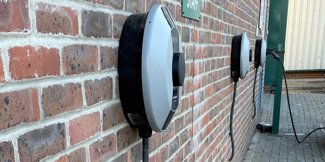 EV Charging Stations at HQ