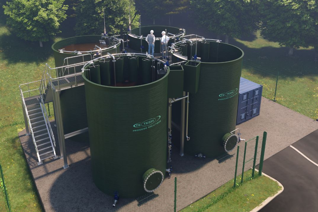 Combine Three Steps in One Unit with this Wastewater-Treatment Process