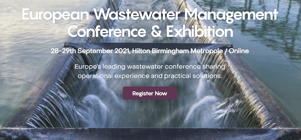 European Wastewater Conference & Exhibition, 28-29 September